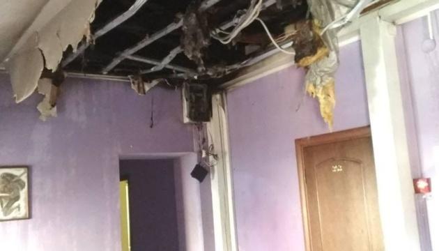 Во Львове горел отель, эвакуировали 12 человек