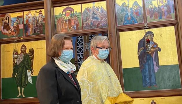 Генконсульство в Гамбурзі подякувало отцю мітрату Стефану Воротняку за служіння українській громаді