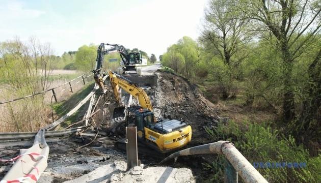 В Укравтодорі обіцяють швидко відбудувати міст, що обвалився на Львівщині