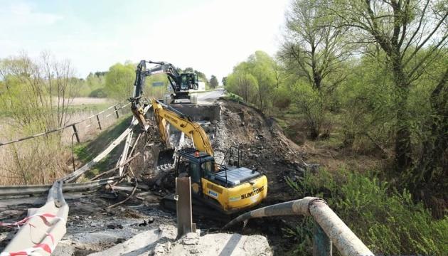 Обвал мосту на Львівщині класифікували як надзвичайну ситуацію