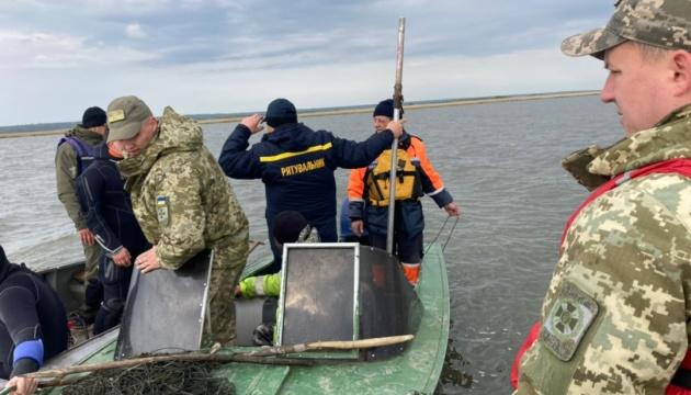 В Одесской области нашли тело пограничника с перевернувшейся лодки
