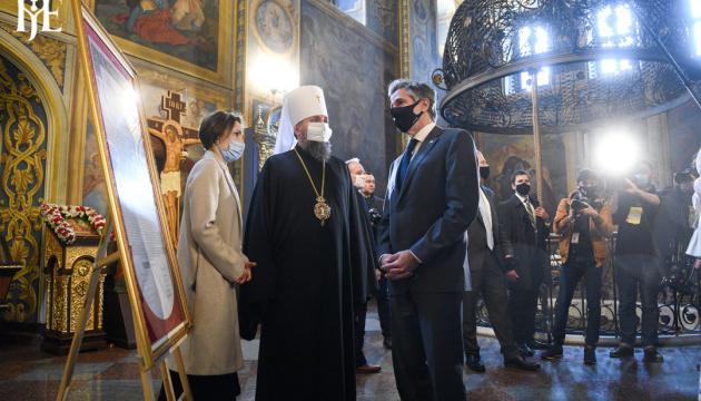 Epiphanius, Blinken discuss persecution of believers in Russian-occupied territories