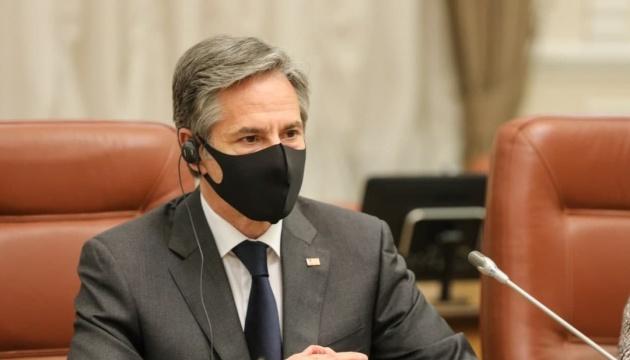 米国はウクライナのNATO加盟を支持している=米国務長官