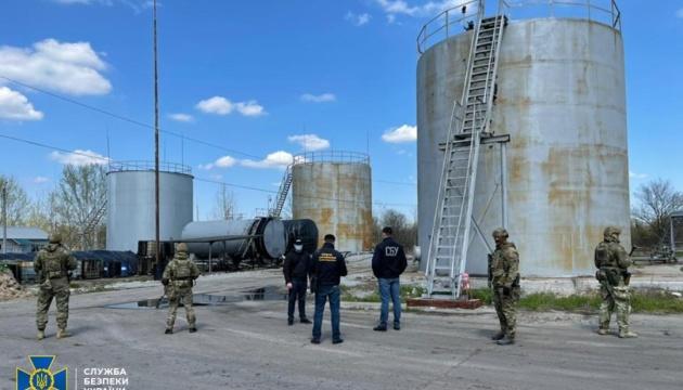 СБУ викрила нелегальний нафтопереробний завод