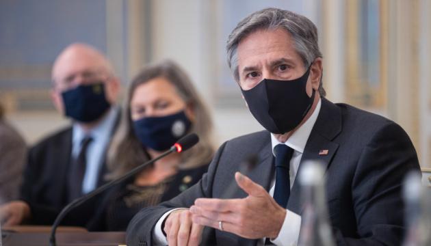 USA wollen Verpflichtungen zu Unterstützung der Ukraine erfüllen - Blinken