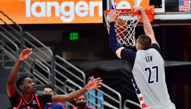 НБА: 10 очок Леня допомогли «Вашингтону» обіграти «Торонто»