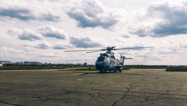 Нацгвардія отримала третій французький гелікоптер Airbus