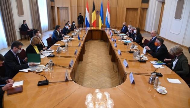 Кулеба призывает ЕС давить на Россию, чтобы добиться конструктива в «Норманди»