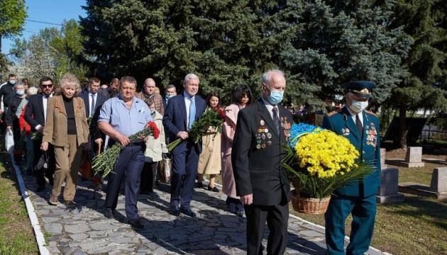 У Харкові вшанували пам'ять воїнів-визволителів Другої світової