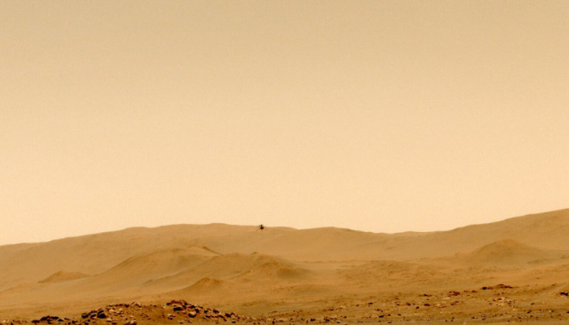Вертолет NASA Ingenuity совершил пятый полет на Марсе