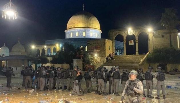 В Иерусалиме произошли столкновения, более 160 пострадавших