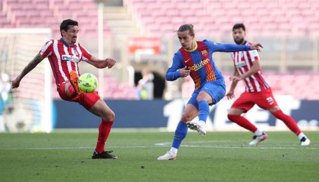 Ла Лига: «Барселона» не сумела обыграть «Атлетико»