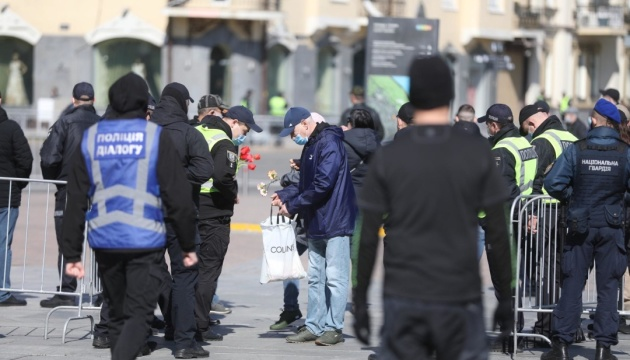Полиция 9 мая уже открыла пять уголовных производств