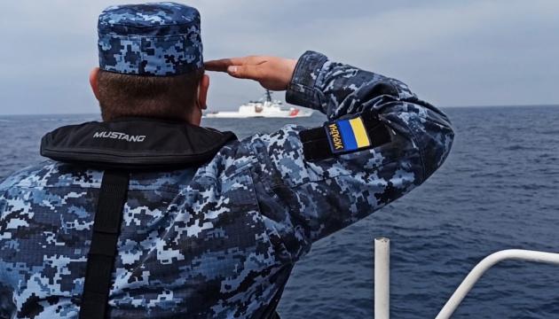 Schiffe der ukrainischen und US-amerikanischen Küstenwache übten im Schwarzen Meer