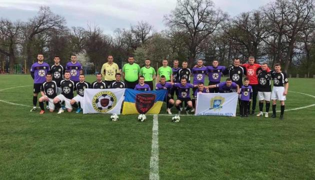 Відбулися матчі 1/16 фіналу першого Кубка захисників України з футболу