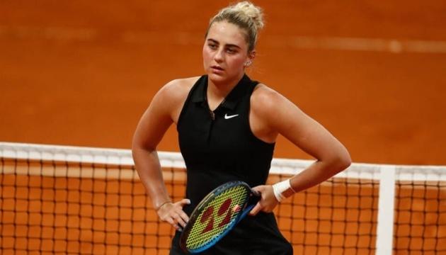 Костюк програла Александровій на старті турніру в Римі