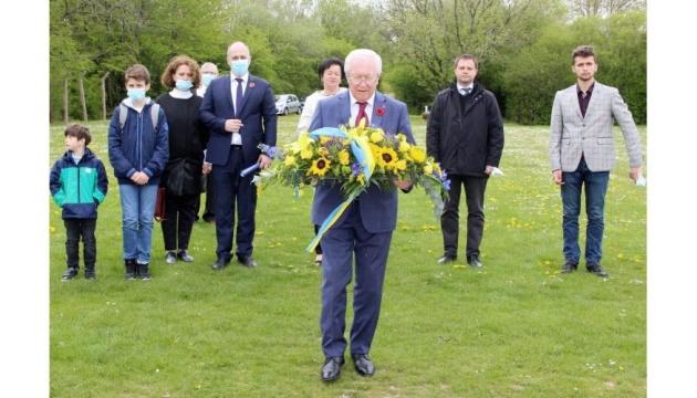 Commémoration du 8 mai : l'ambassadeur d'Ukraine au Conseil de l'Europe en visite au Ban Saint-Jean