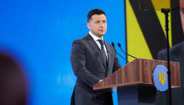 Zelensky:  Ucrania no quiere la guerra, pero debe tener un ejército fuerte para la paz
