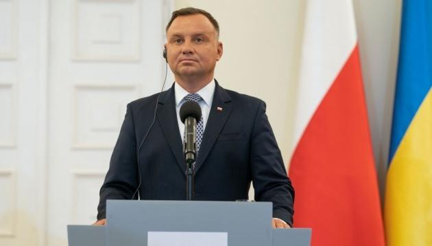 """O Ukrainie będzie się rozmawiało podczas """"Bukaresztańskiej Dziewiątki"""" oraz na szczycie NATO – Duda"""