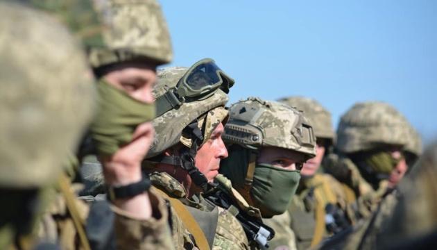 Десантники в зоне ООС отшлифовали навыки стрельбы из артиллерии