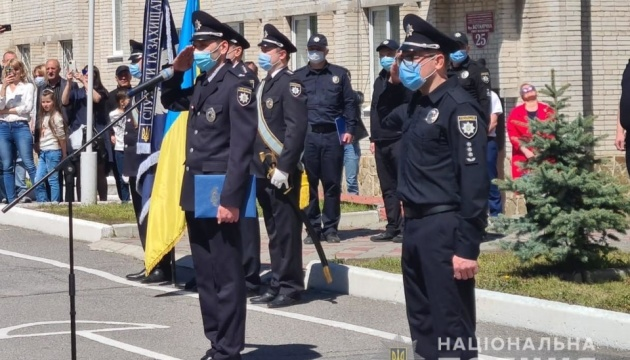 Учасники першого в країні поліцейського кадетського корпусу дали клятву