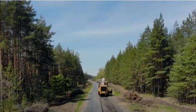 На Донеччині ремонтують дорогу Слов'янськ – Майдан