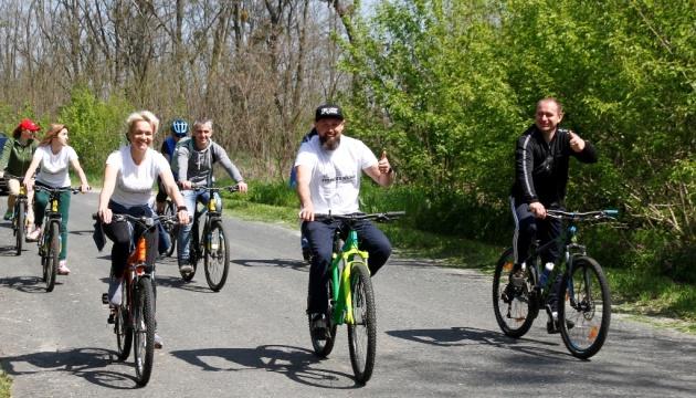 На Полтавщине презентовали маршрут для любителей активного туризма