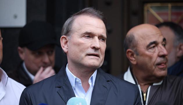 Медведчук не получает зарплату депутата во время домашнего ареста