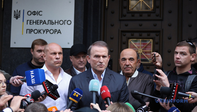 Медведчук заявил, что не планирует уезжать из страны