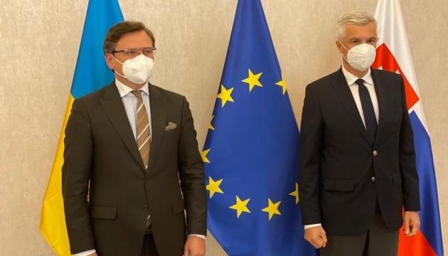 Kuleba invites Slovakia to hold meeting of joint intergovernmental commission