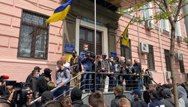 Печерский суд избирает меру пресечения Медведчуку