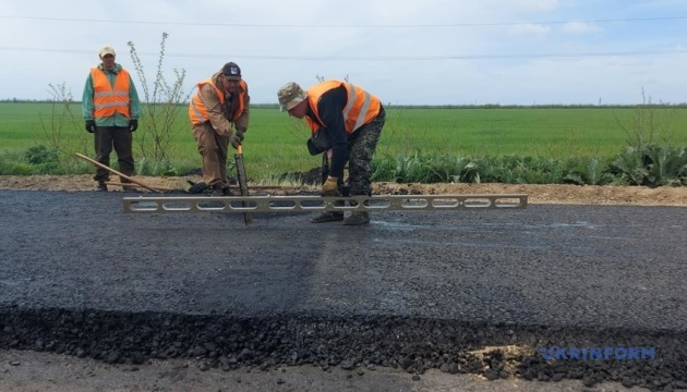 На Запорожье в этом году обновят все основные дороги госзначения