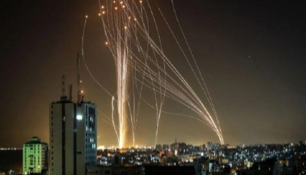 Із Сектора Гази по Ізраїлю за ніч випустили понад 130 ракет