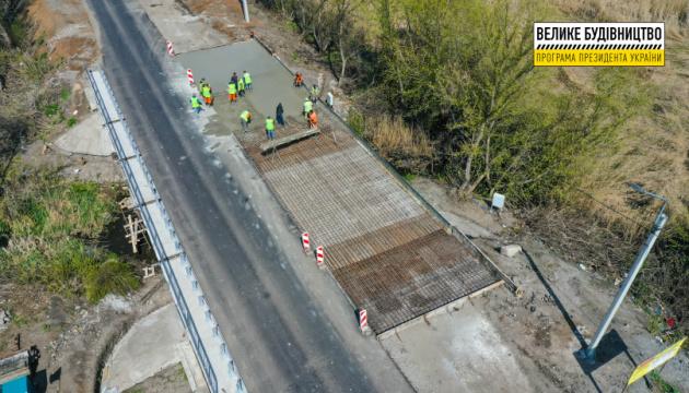 На Донетчине ремонтируют мост возле поселка Ивановское