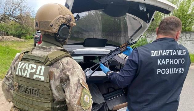 Полиция задержала банду торговцев оружием из зоны ООС