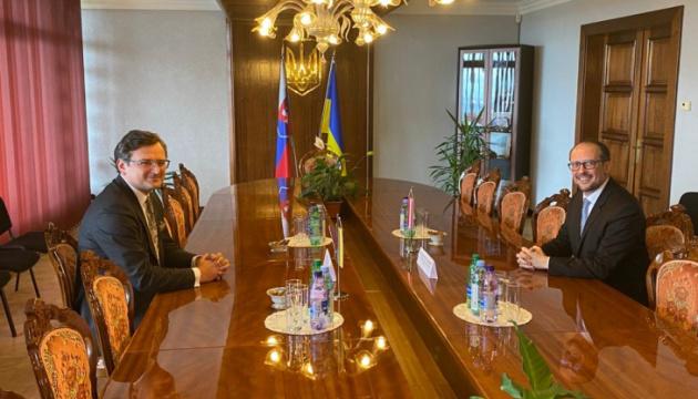 Ministrowie spraw zagranicznych Ukrainy i Austrii rozmawiali o zacieśnieniu stosunków między oboma krajami