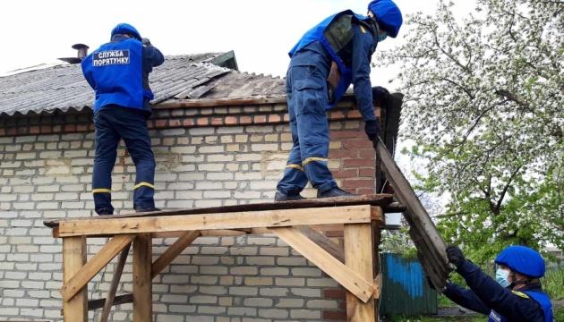 Рятувальники показали, як відновлюють зруйновані окупантами будинки
