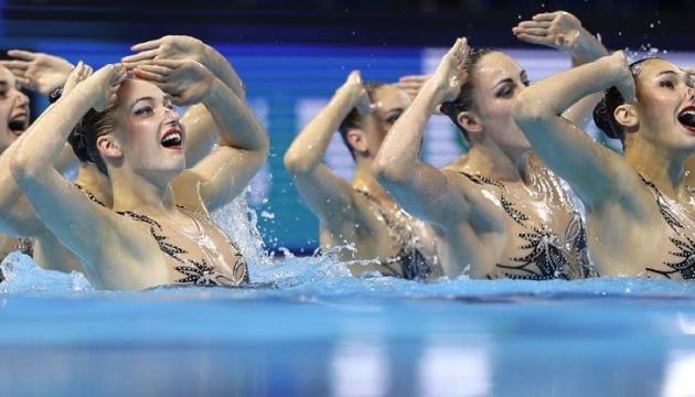 Украина показала свой лучший результат на ЧЕ в синхронном плавании