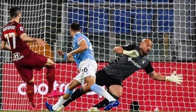 Серія А: «Лаціо» програє «Ромі» в дербі і втрачає шанси потрапити в топ-4