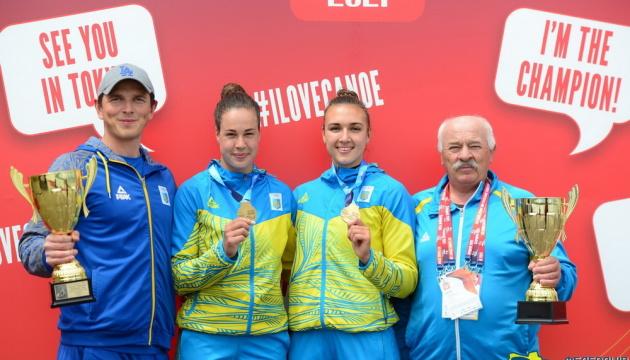 Украинские гребцы завоевали два «золота» на этапе Кубка мира