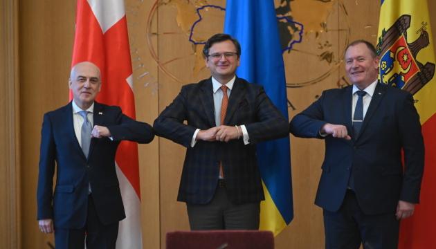 Україна, Грузія і Молдова створили Асоційоване тріо для успішної євроінтеграції