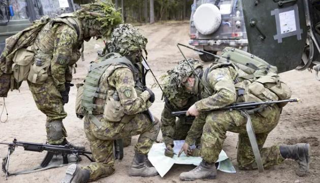 В Естонії стартують багатонаціональні військові навчання Spring Storm