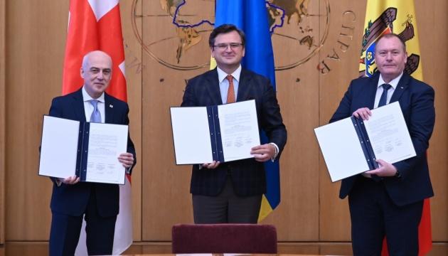 Ukraine, Georgia, Moldova establish Associated Trio for successful European integration
