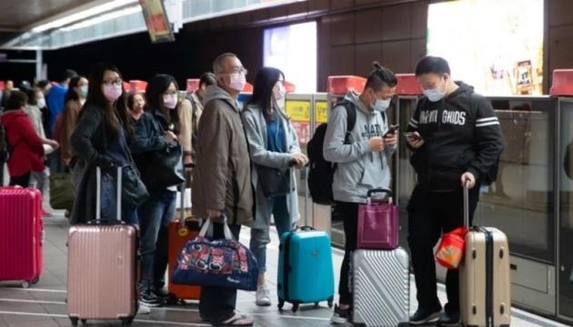 Тайвань закривається на місяць для туристів через COVID-спалах