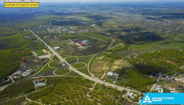 Начался новый этап обновления Харьковской объездной дороги