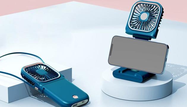 У Китаї створили вентилятор, який можна носити на шиї