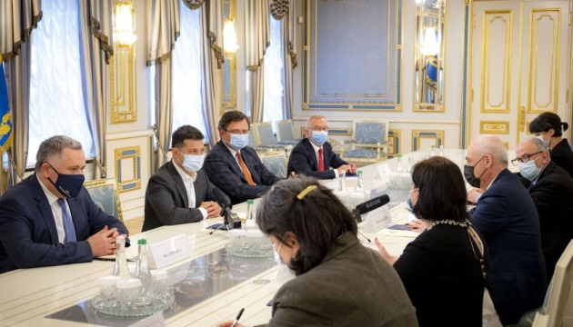 Зеленський обговорив із віцепрем'єром Грузії взаємодію на шляху до ЄС та НАТО