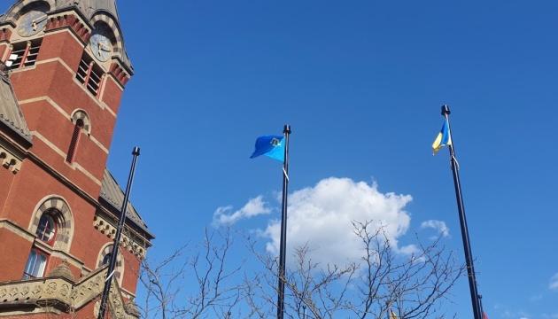 У Канаді замайорів кримськотатарський прапор