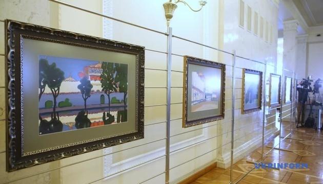 У Раді та МЗС відкрили виставку до Дня пам'яті депортації кримських татар