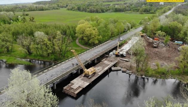 На Полтавщині відремонтують міст через річку Псел